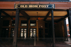 old-iron-post